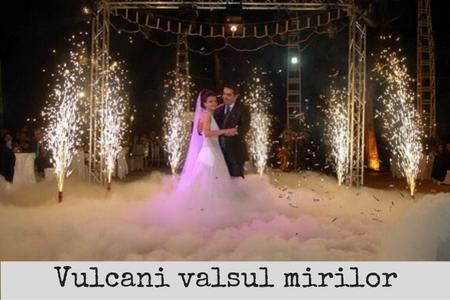 vulcani artificii valsul mirilor nunta bucuresti