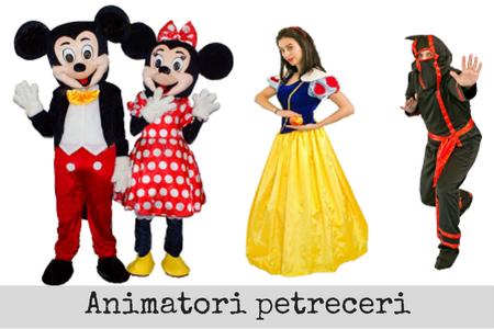 animatori petreceri bucuresti mickey minnie facepainting modelaj baloane