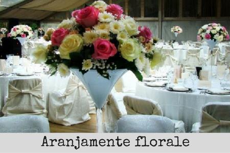 aranjamente florale nunta botez mese invitati bucuresti