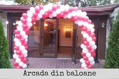 arcada baloane latex bucuresti