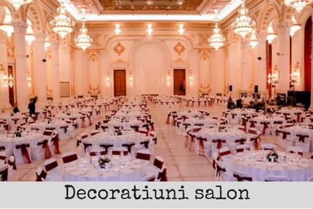 decoratiuni salon fete de masa, huse scaune, funde scaune bucuresti
