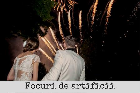 focuri artificii exterior nunta bucuresti
