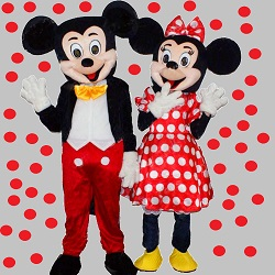 Animatori costumati Mickey Minnie facepainting modelaj baloane bucuresti