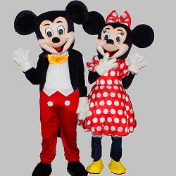 Animatori costumati Mickey Minnie facepainting modelaj baloane bucuresti