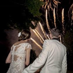 Focuri de artificii exterior nunta bucuresti