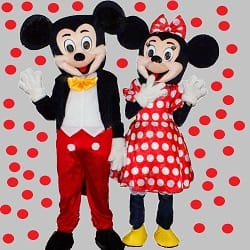 animatori botez, animatori mickey minnie