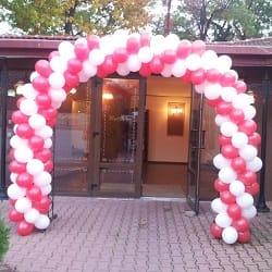 arcada baloane, ghirlanda baloane