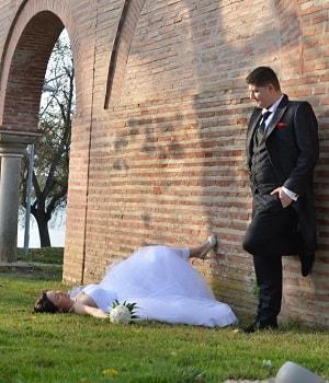 poze nunta sedinta trash the dress