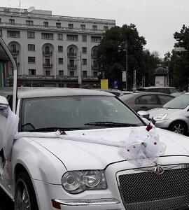 pampoane capota limuzina bucuresti