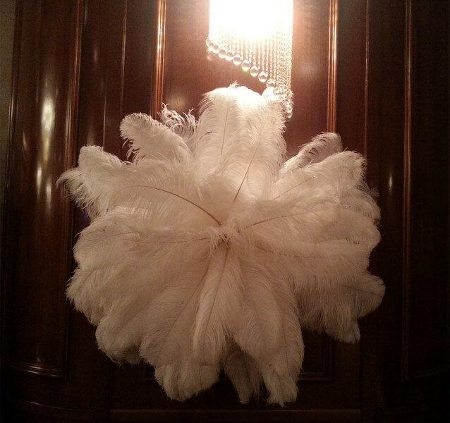 Pene De Strut Pene Decorative Nunta De Inchiriat Royal Mariage