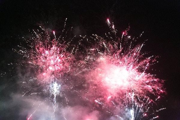 focuri artificii exterior