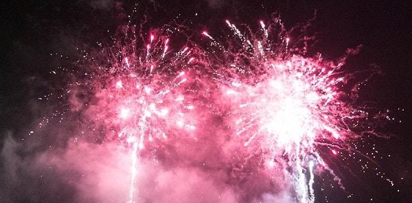 focuri artificii nunta