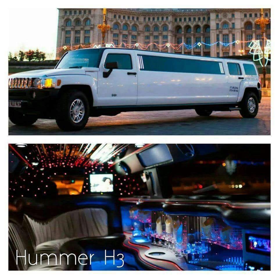 limuzina hummer h3 interior