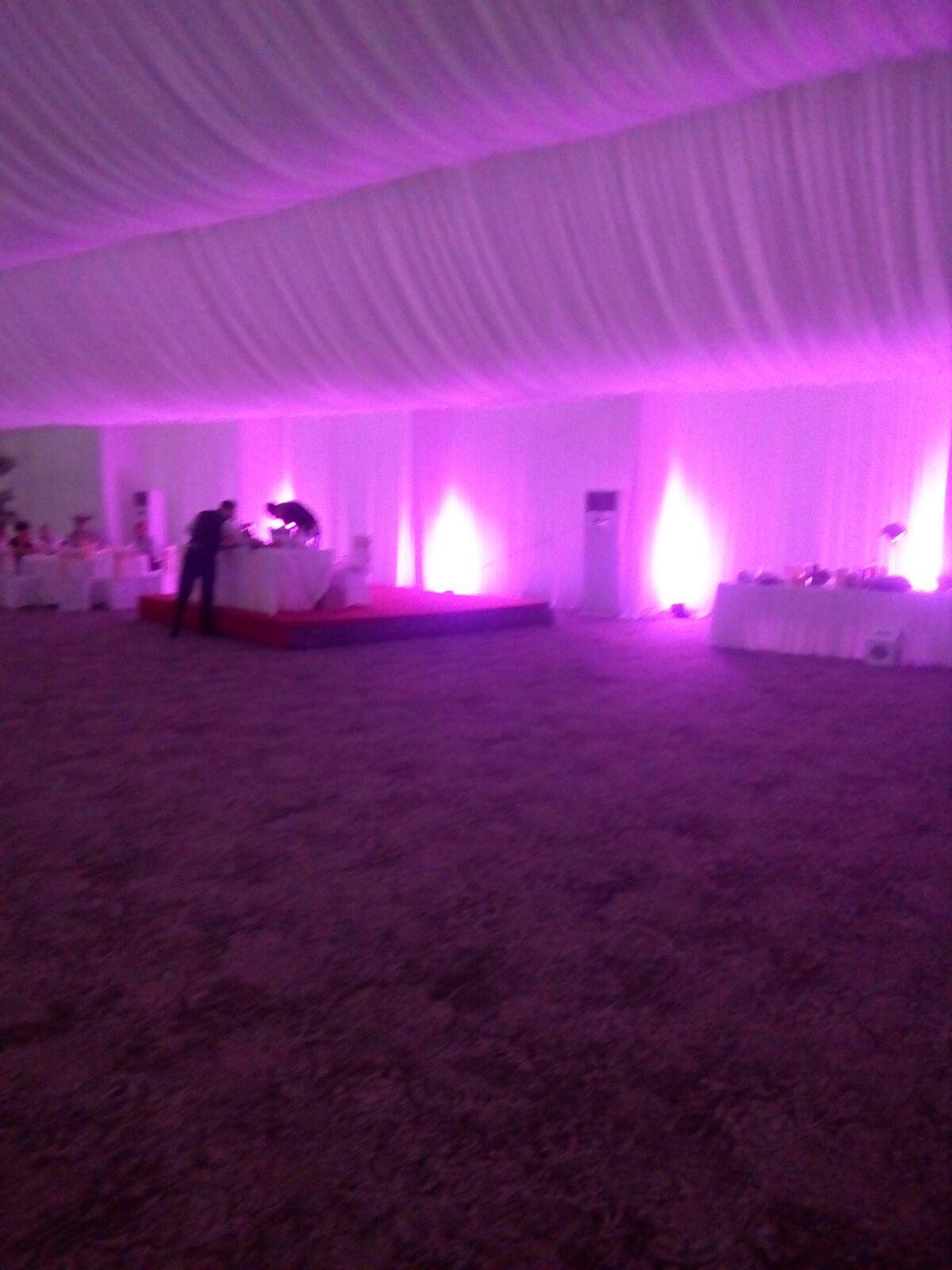 lumini ambientale nunta