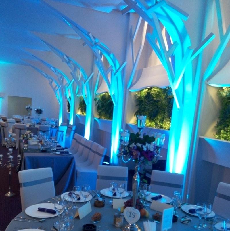 lumini arhitecturale de inchiriat nunta