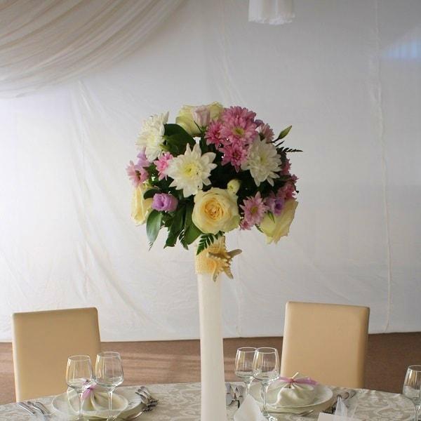 aranjament floral nunta f49