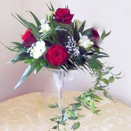 aranjament floral nunta f22