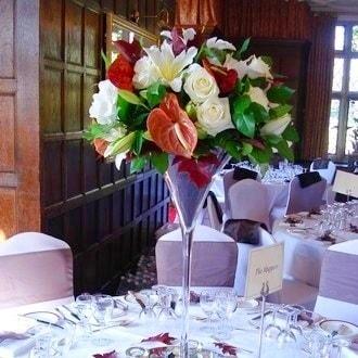 aranjament floral nunta f32