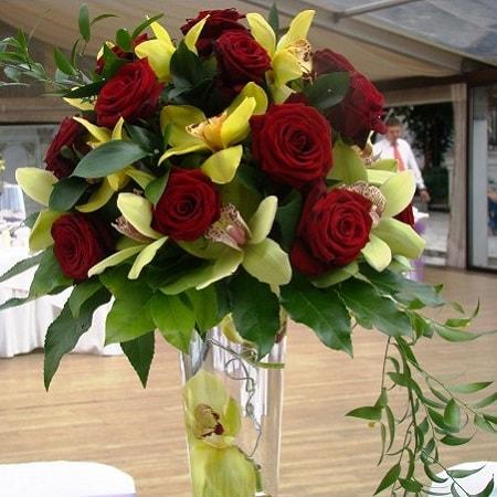 aranjament floral nunta f43