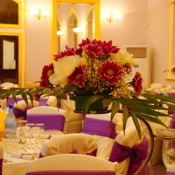 aranjament floral nunta f46