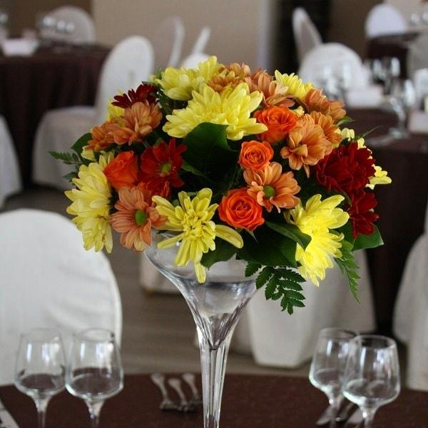 aranjament floral nunta f50
