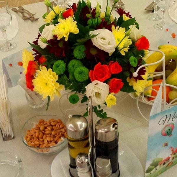 aranjament floral nunta f55