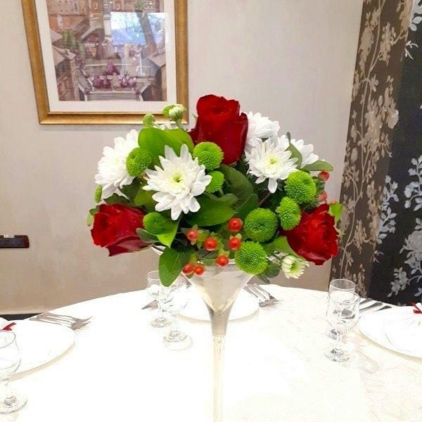 aranjament floral nunta f58