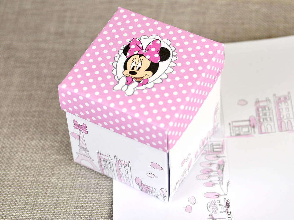 invitatii botez minnie
