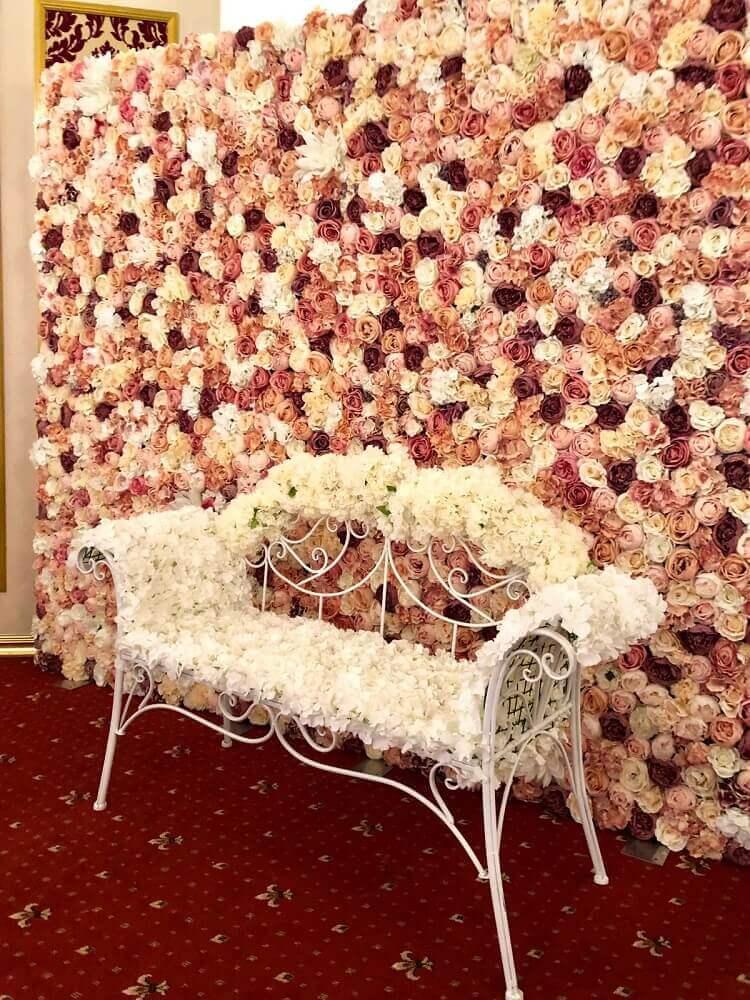 panou floral nunta