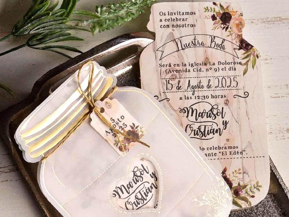 invitatii nunta cu tematica